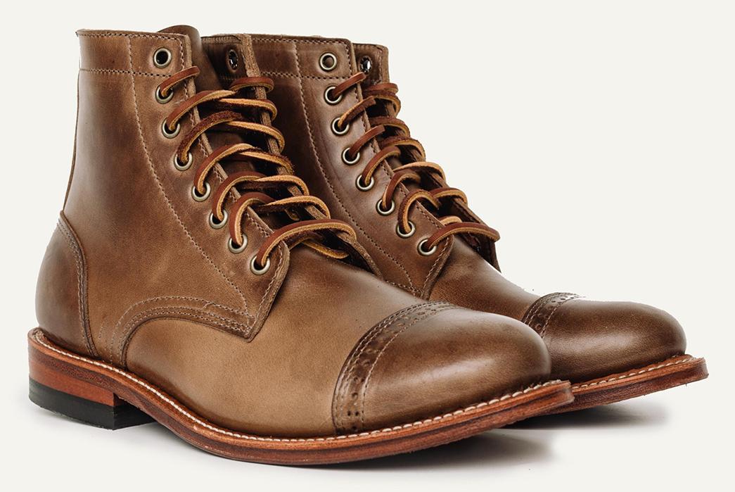 Perforated-Cap-Toe-Boots---Five-Plus-One-5)-John-Lofgren-Combat-Boots