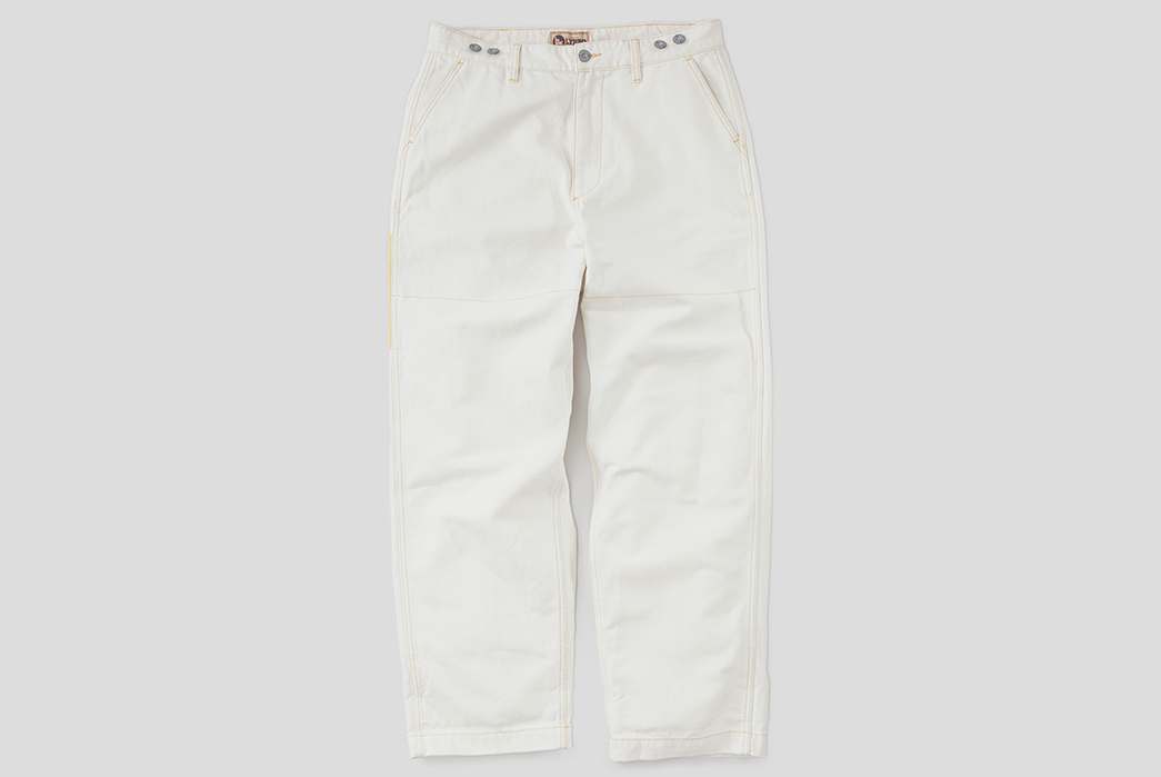 Practical-style-melded-into-Nigel-Cabourn's-Welder-Pant-front
