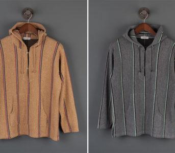Radiall's-Skunk-Sweatshirt-Reeks-Of-70s-SoCal-fronts-dark-yellow-and-grey