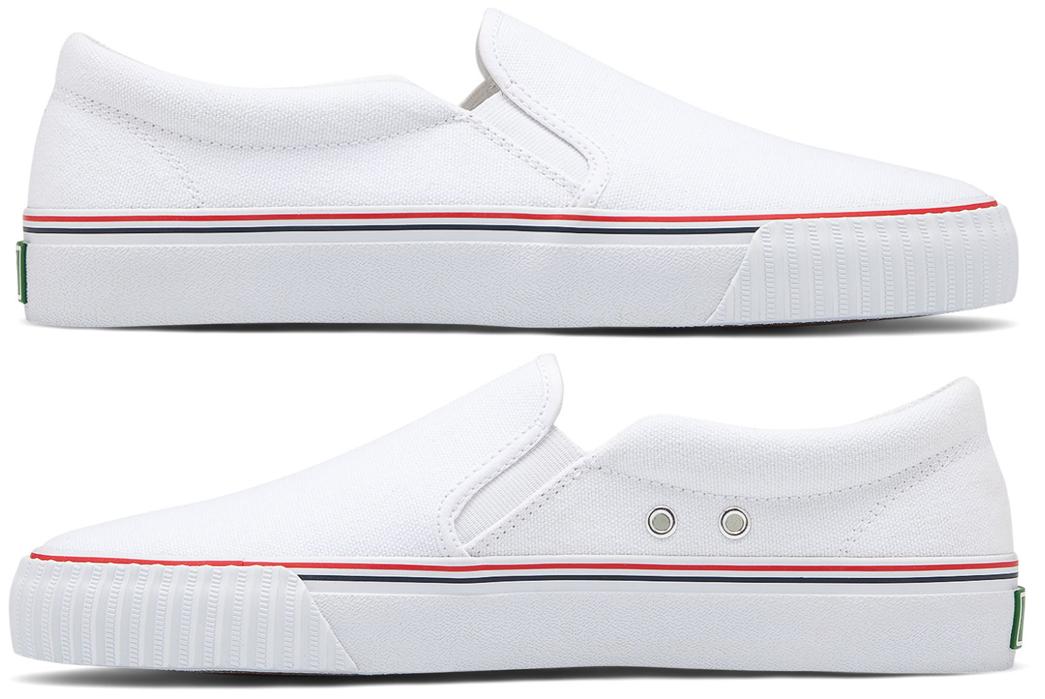 Slip-On-Sneakers---Five-Plus-One 1) P.F. Flyer: Lo Slip-On