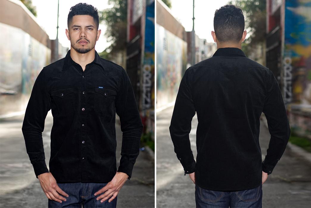 Corduroy-Shirts---Five-Plus-One-5)-Iron-Heart-Selvedge-Corduroy-Shirt