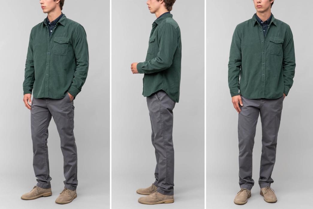 Corduroy-Shirts---Five-Plus-One 1) Save Khaki: 16 Wale Corduroy Overshirt