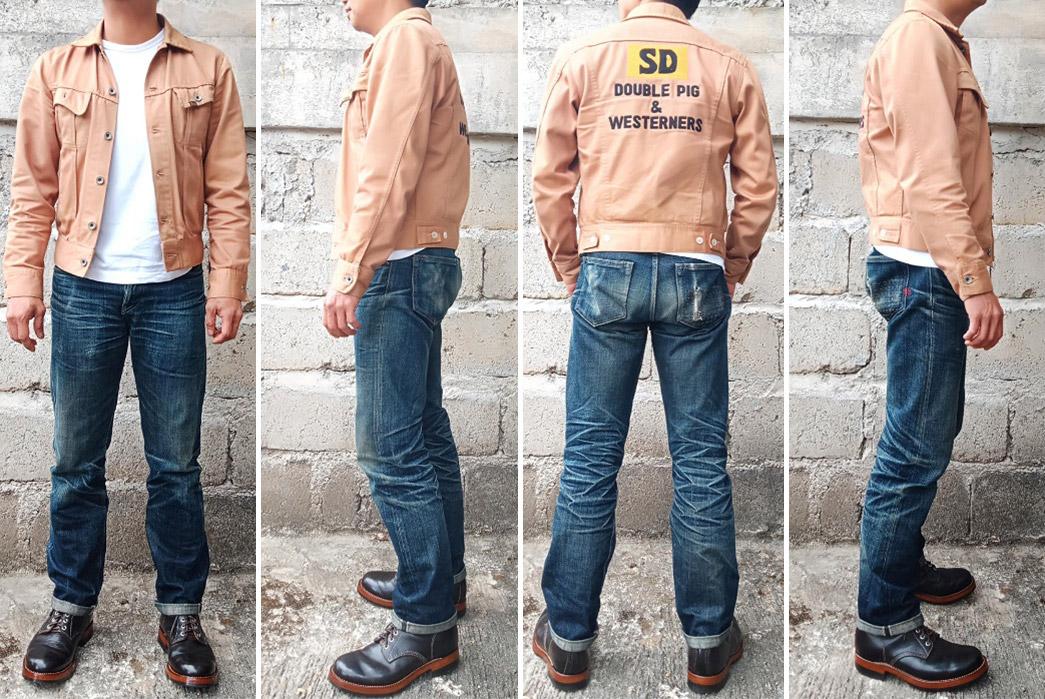 Fade-Friday---Leon-Denim-LD001-STF-(10-Months,-1-Wash,-1-Soak)-model-front-side-back-side