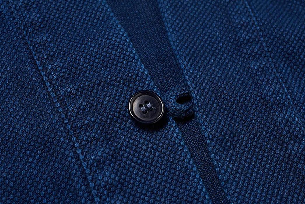 Kimono-Inspired-Outerwear---Five-Plus-One-2)-Blue-Blue-Japan-Hanten-Jacket-detailed