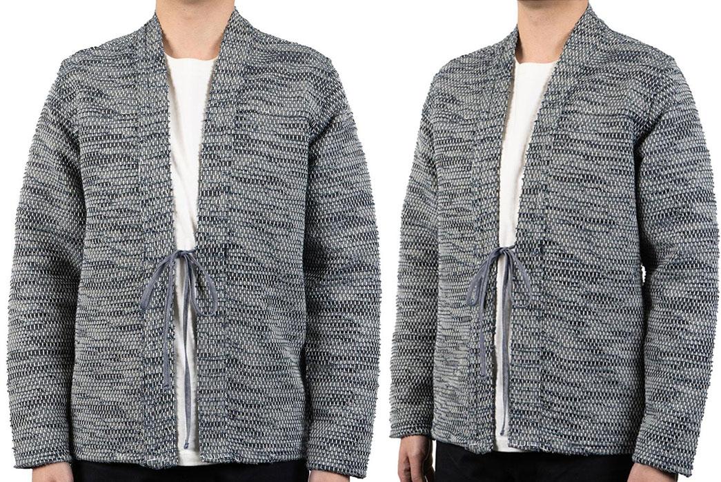 Kimono-Inspired-Outerwear---Five-Plus-One-5)-Naked-and-Famous-Kimono-Sakiori-Denim-Jacket