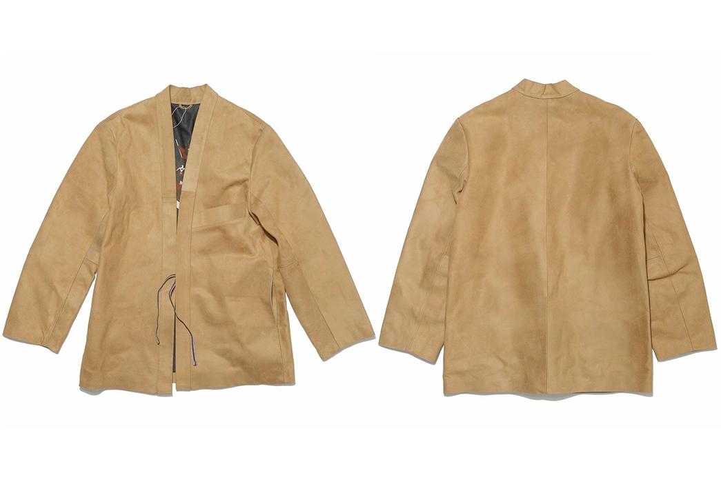 Kimono-Inspired-Outerwear---Five-Plus-One-Plus-One---Kapital-SHA-KA-Roughout-Jacket