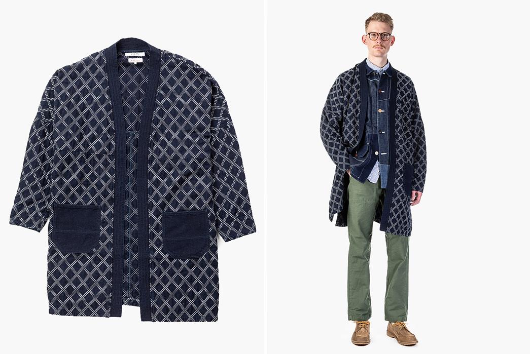 Kimono-Inspired-Outerwear---Five-Plus-One 1) FDMTL: Long Haori Jacket