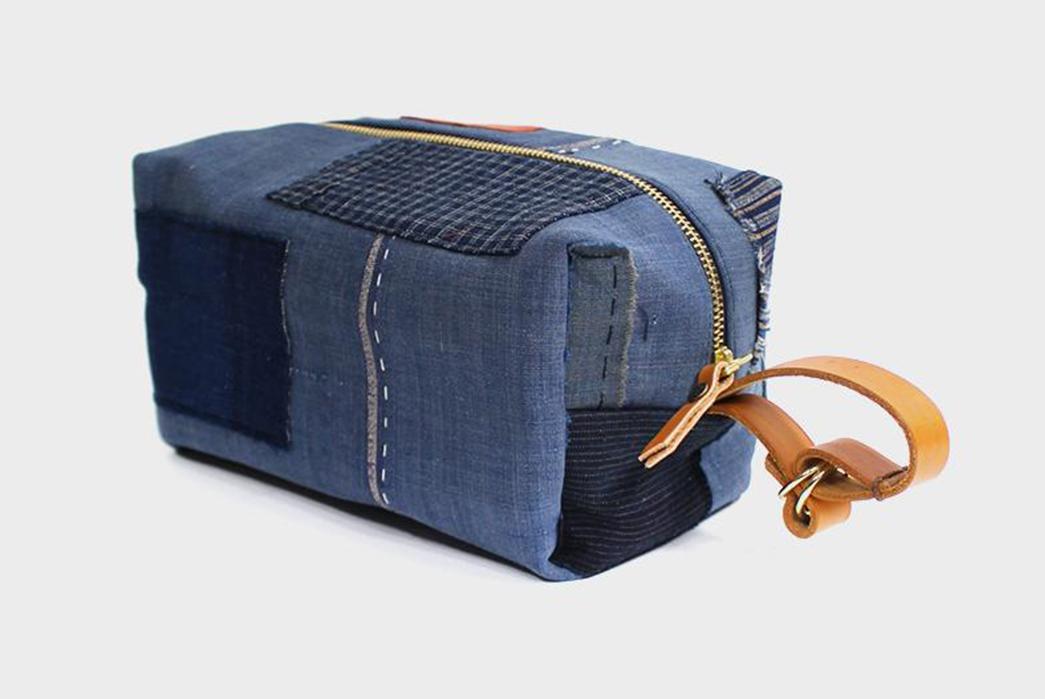 Kiriko-Stitches-Up-a-Collection-Of-Boro-Dopp-Kits-blue2