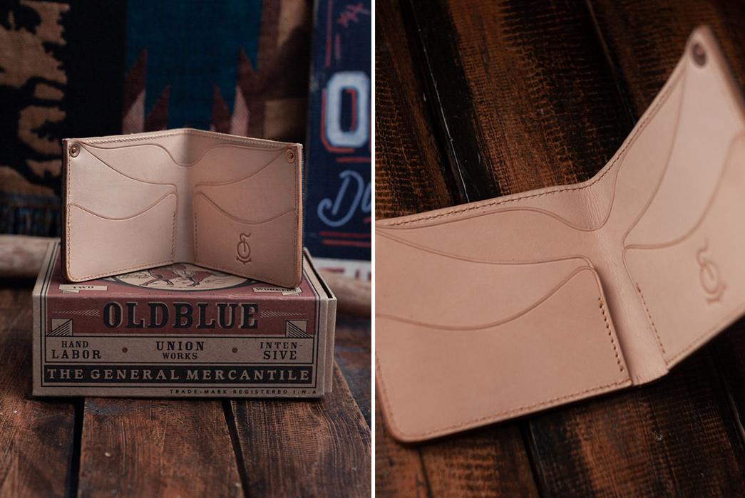 Oldblue-Co.-Utilizes-Its-Denim-Scraps-With-Its-Type-I-Denim-Wallet-open-inside