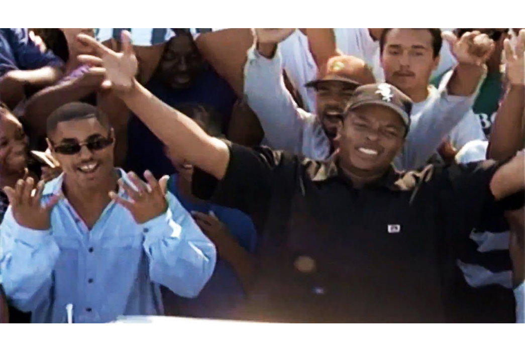 Plenty-Tough---The-History,-Philosophy,-&-Iconic-Products-Of-Ben-Davis-Dr.-Dre-sporting-a-Ben-Davis-Shirt-in-his-music-video-for-Let-Me-Ride-via-Pinterest