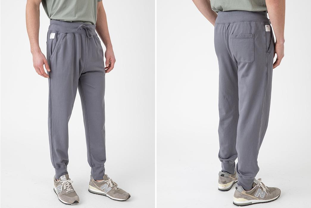 Sweatpants-for-Loungin'---Five-Plus-One-2)-Save-Khaki-Supima-Fleece-Field-Sweatpants