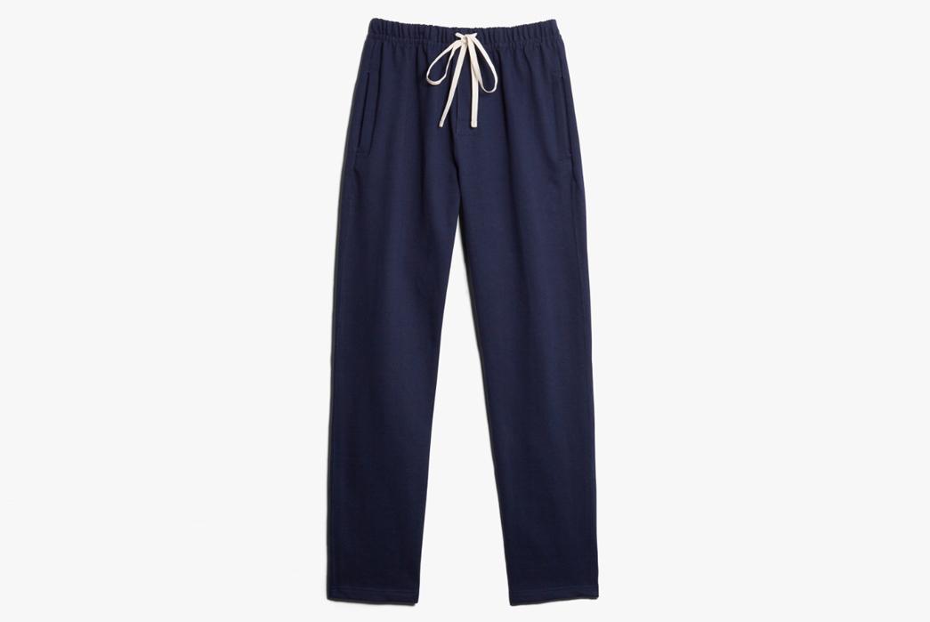 Sweatpants-for-Loungin'---Five-Plus-One-3)-Merz-b.-Schwanen-Open-Leg-Sweatpants