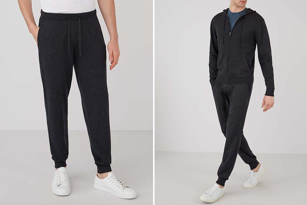 Sweatpants-for-Loungin'---Five-Plus-One-Plus-One---Sunspel-Wool-Lounge-Pants
