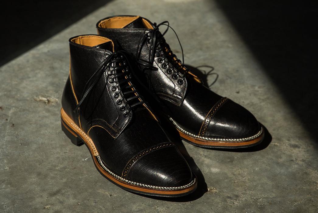 Viberg-Stitches-Up-Its-Service-Boot-In-Shinki-Horsebutt-pair-black