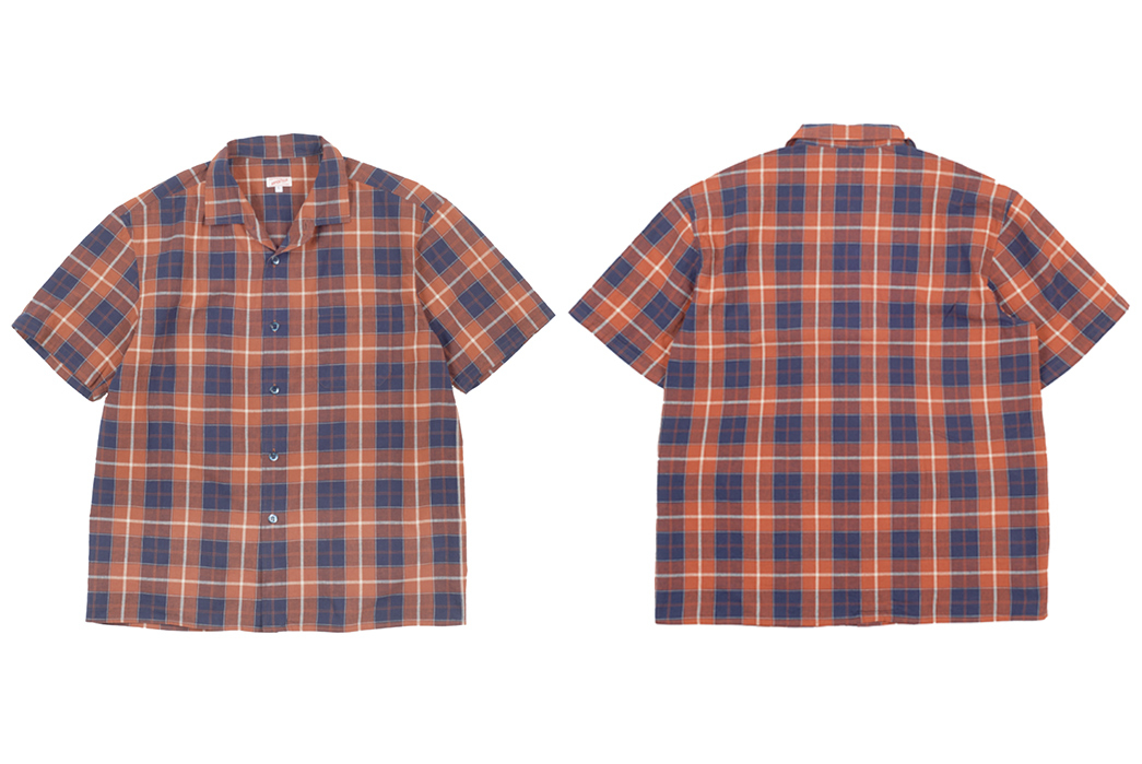 Wear-Pyjamas-In-Public-With-Arpenteur's-Pyjama-Shirt-front-back