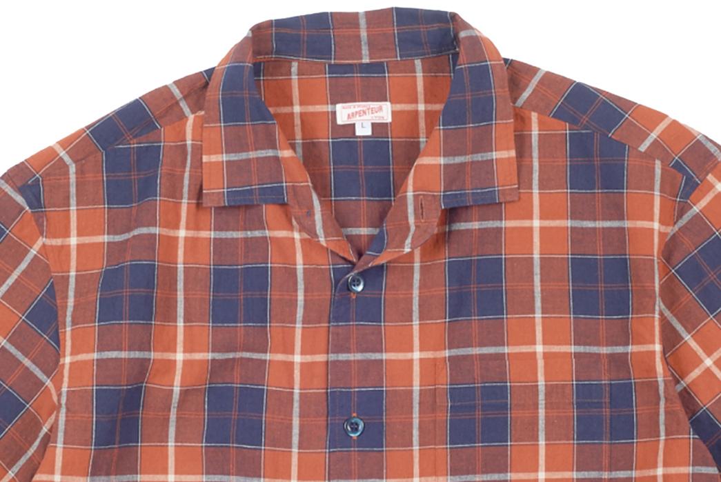 Wear-Pyjamas-In-Public-With-Arpenteur's-Pyjama-Shirt-front-detailed