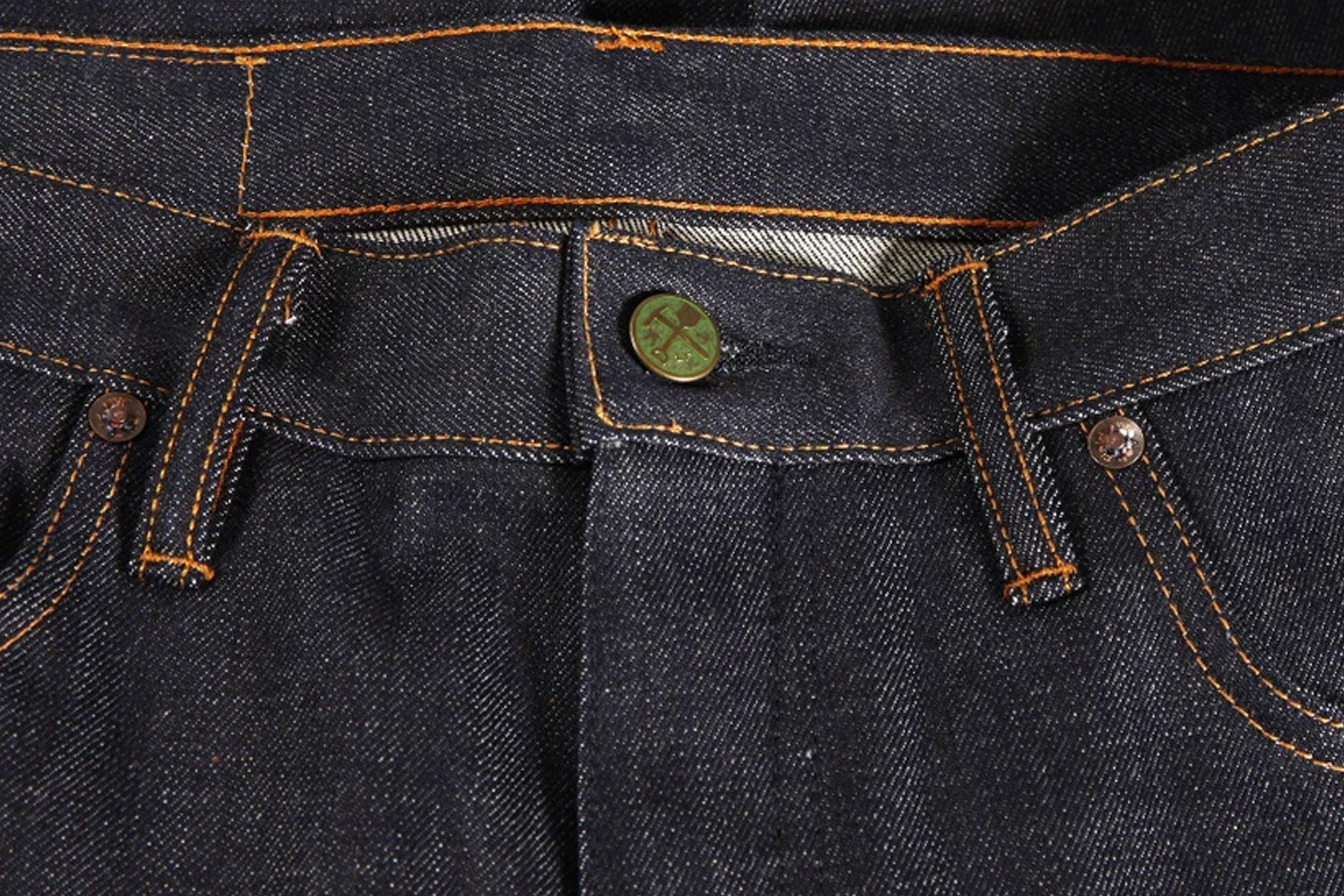 Pre-Order Left Field's Vidalia Mills Jeans Made on the White Oak Looms