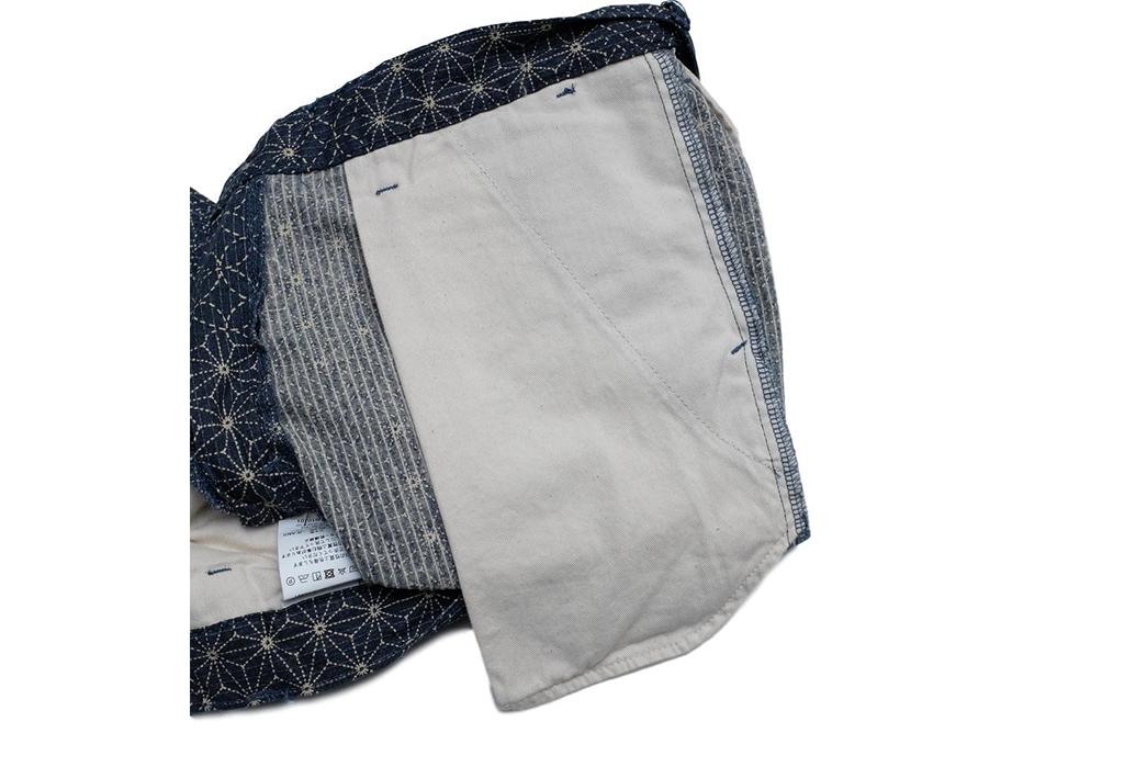 Japan-Blue-Merges-Japanese-Textile-Crafts-With-Its-Asanoha-Sashiko-Short-inside-pocket-bag