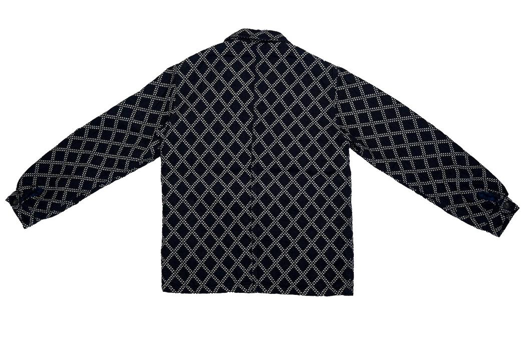 Momotaro-Gives-The-Classic-French-Chore-Jacket-A-Sashiko-Makeover-back