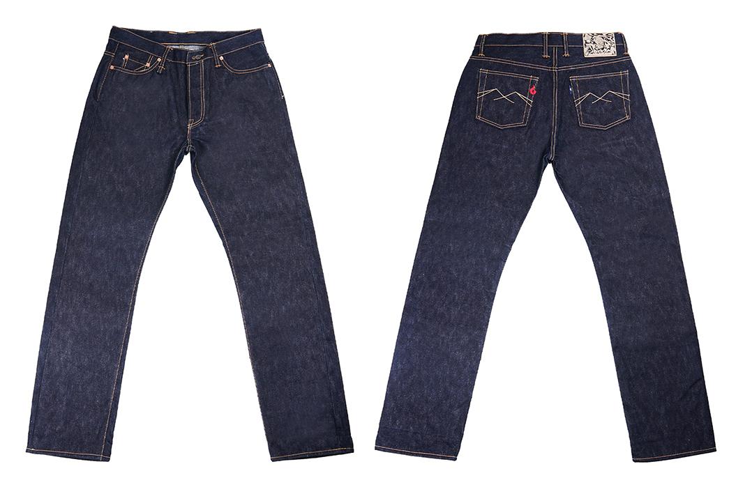 Sage-Mills-More-Heavyweight-Denim-For-Its-Hinokami-20-oz.-Unsanforized-Deep-Indigo-Jean-front-back