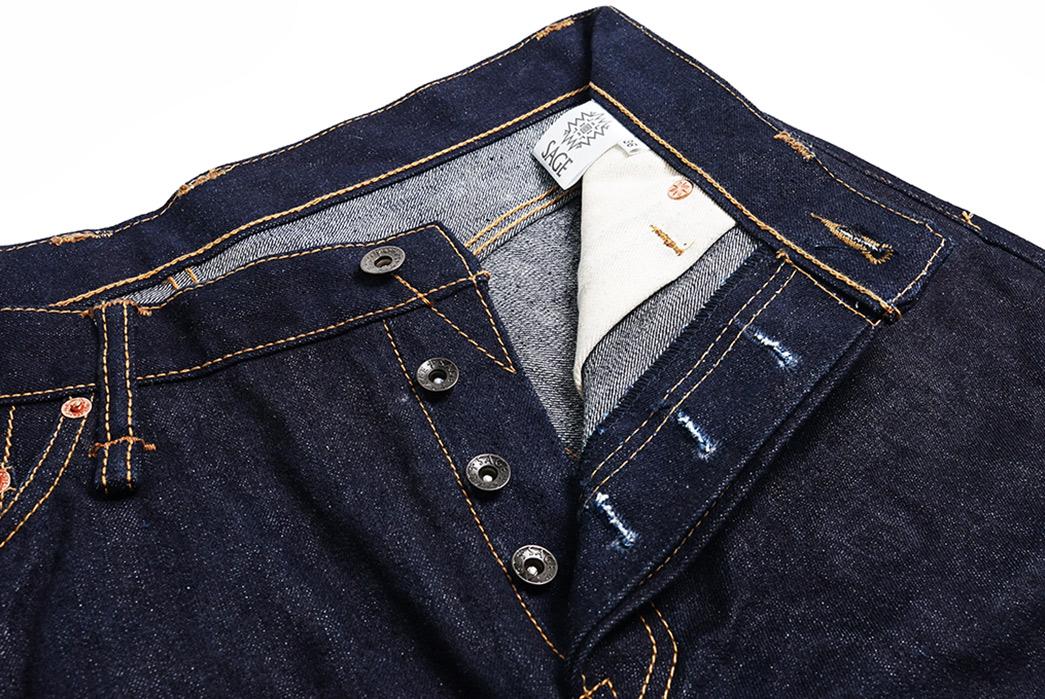 Sage-Mills-More-Heavyweight-Denim-For-Its-Hinokami-20-oz.-Unsanforized-Deep-Indigo-Jean-front-top-open