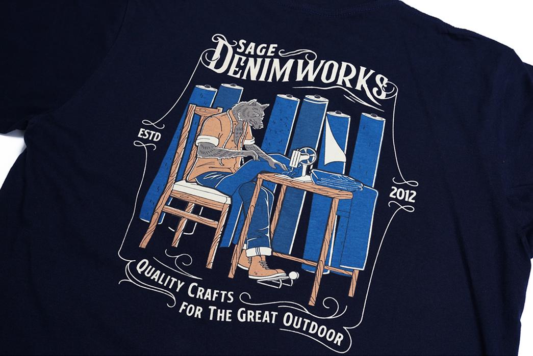 Sage-Prints-a-Quintet-Of-Graphic-T-Shirts-front-black-denim