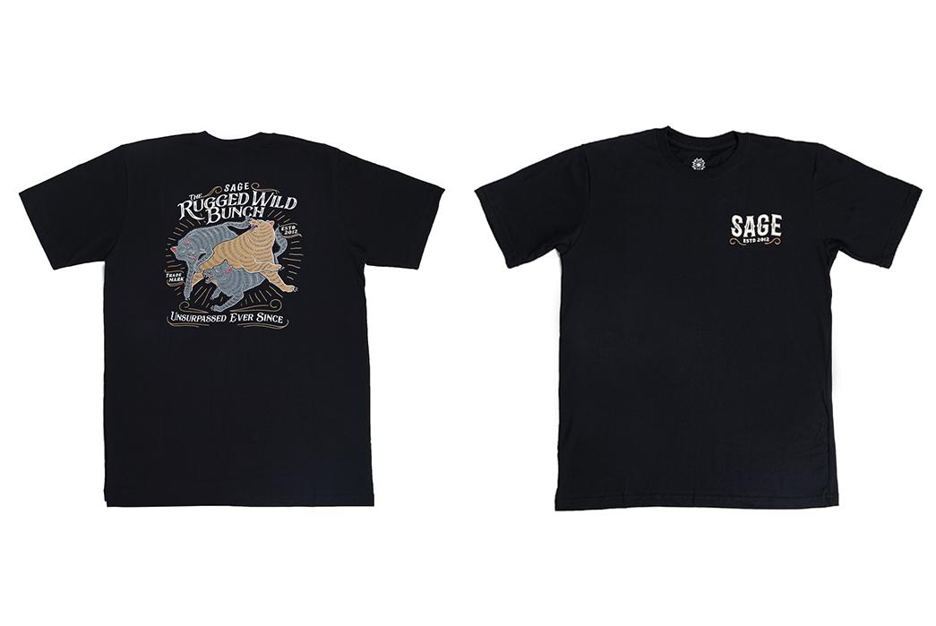 Sage-Prints-a-Quintet-Of-Graphic-T-Shirts-fronts-black