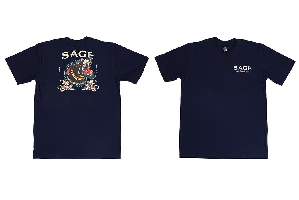 Sage-Prints-a-Quintet-Of-Graphic-T-Shirts-fronts-blue