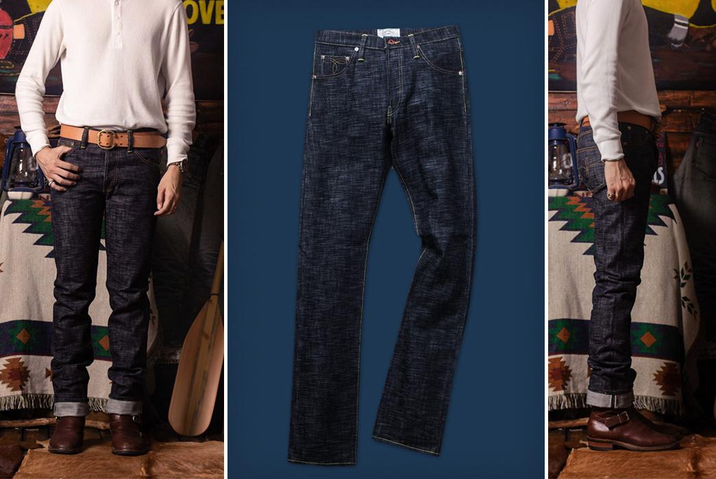 Selvedge-Slub-Jeans---Five-Plus-One-4)-The-Oldblue-Company-Over-Slub-Selvedge