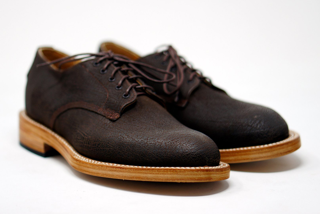 Unmarked's-DBS-Micro-Texture-Derby-Shoes-Take-30-Days-to-Make