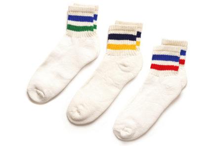 American-Trench-Retro-Stripe-Quarter-Crew-Socks-Are-Knitted-In-North-Carolina