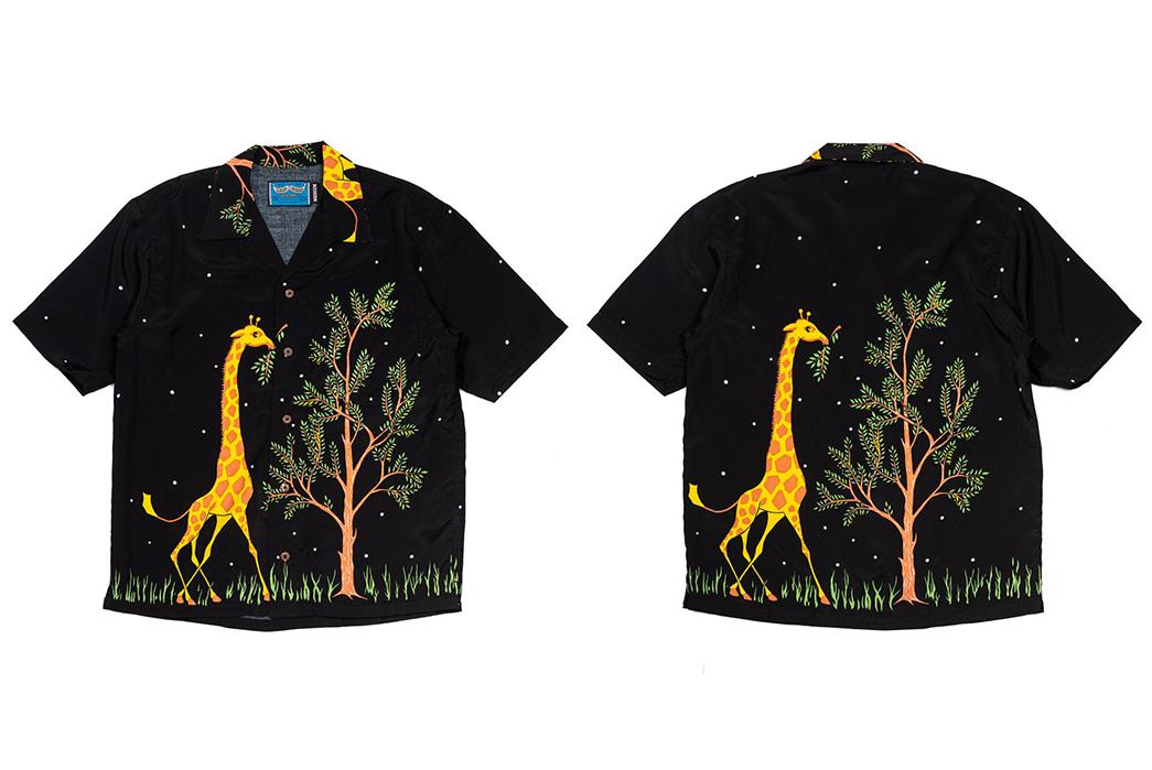 Do-The-Truffle-Shuffle-In-These-Pherrow's-x-Head-Goonie-Hawaiian-Shirts-front back black