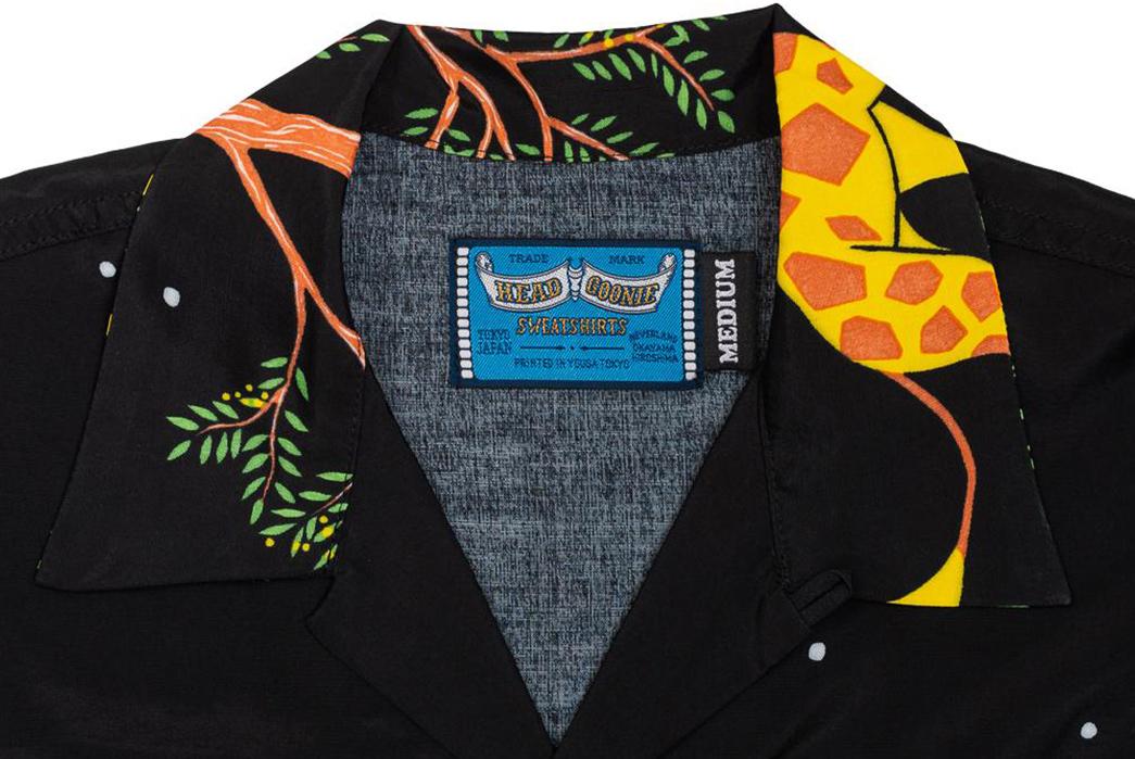 Do-The-Truffle-Shuffle-In-These-Pherrow's-x-Head-Goonie-Hawaiian-Shirts-front-black-collar