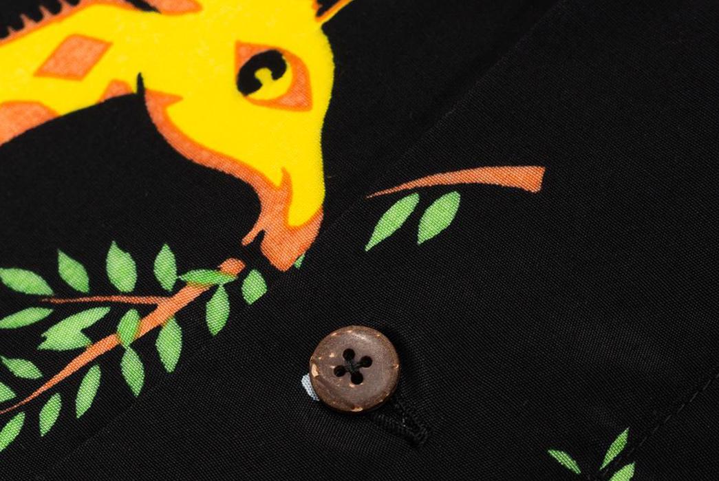 Do-The-Truffle-Shuffle-In-These-Pherrow's-x-Head-Goonie-Hawaiian-Shirts-front-black-detailed