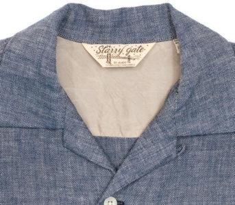 Jelado-Renders-Its-Westcoat-Shirt-In-Indigo-Dyed-Cotton-Gauze