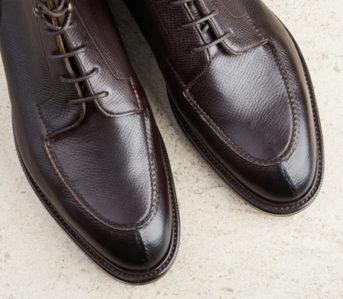 Norwegian-Split-Toe-Boots---Five-Plus-One-3)-Edward-Green-Cranleigh-pair-top
