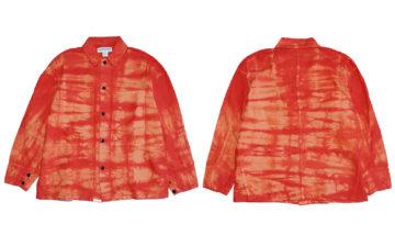 Sassafras-Tie-Dyes-Oxford-Cloth-For-Its-Latest-Transplant-Jacket-front-back