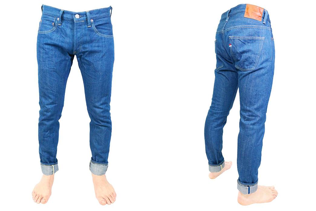 Tanuki-Giveaway---Win-a-Piece-of-Kaze-Denim-pants-model-front-side-2