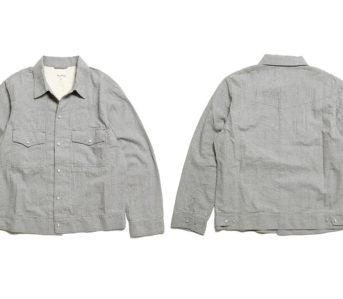 Burgus-Plus-Splices-Western-Shirt-&-Trucker-Jacket-In-Breathable-Seersucker-front-back