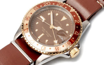 Dive-Into-Caramel-With-Vague-Watch-Company's-GMT-Watch-In-Brown