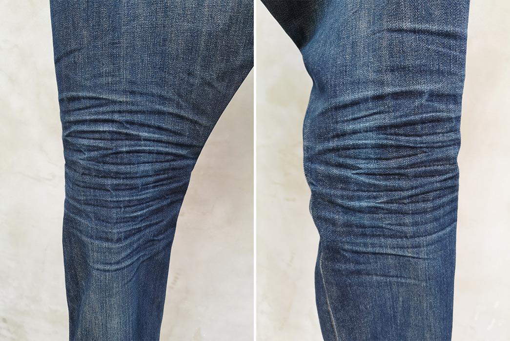 Fade-Friday---Gap-Kaihara-Slim-Cut-(4-Years,-1-Wash,-4-Soaks)-back-legs