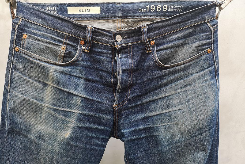 Fade-Friday---Gap-Kaihara-Slim-Cut-(4-Years,-1-Wash,-4-Soaks)-front-top