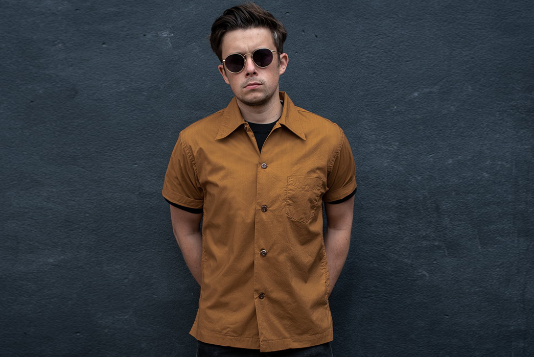 Make-Trophy-Clothing's-Skipper-Shirt-The-Captain-Of-Your-Wardrobe-brown-model