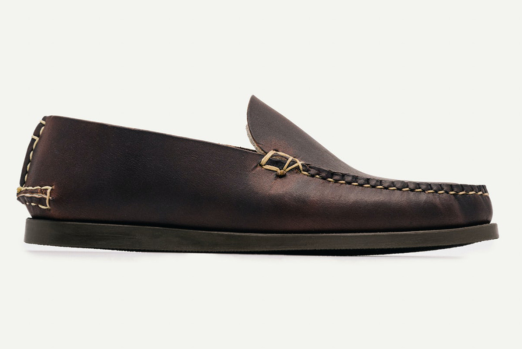 Oak-Street-Bootmakers-Slips-Into-Horween-Chromepak-Moccasins-brown-single-side