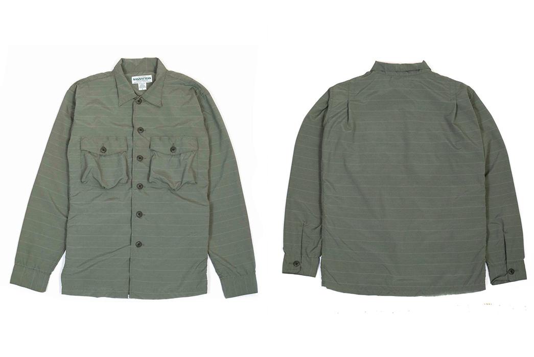 Prune-Your-Wardrobe-To-Make-Space-For-The-Sassafrass-Olive-Gardener-Half-Shirt-front-back