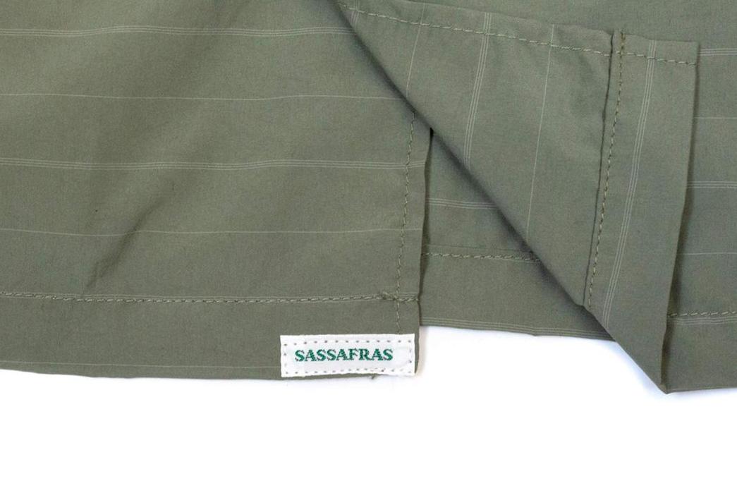Prune-Your-Wardrobe-To-Make-Space-For-The-Sassafrass-Olive-Gardener-Half-Shirt-selvedge-brand