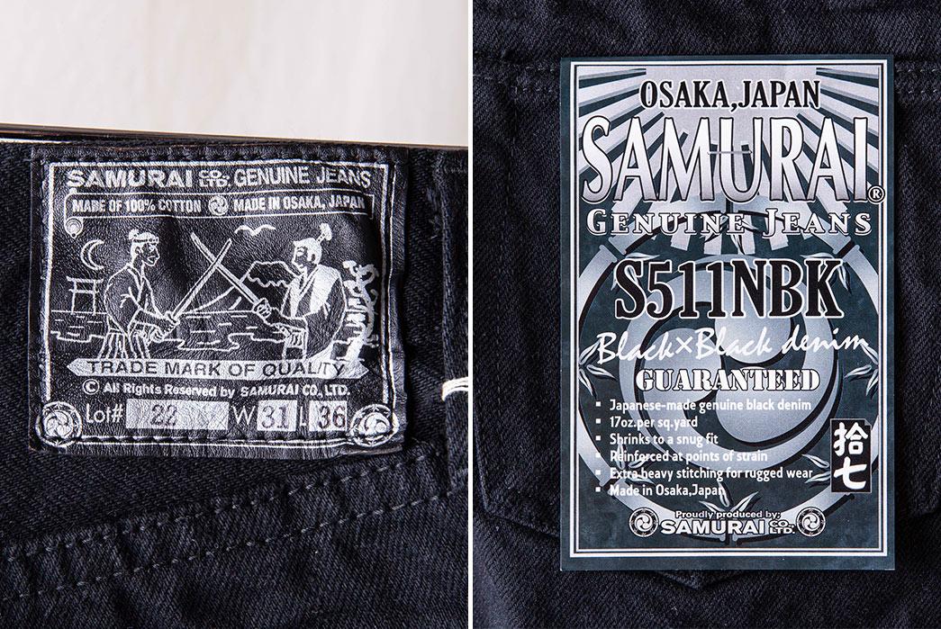 Samurai's-S511NBKii-NTA-Colorfast-Jeans-Will-Go-Up-In-Smoke-brands