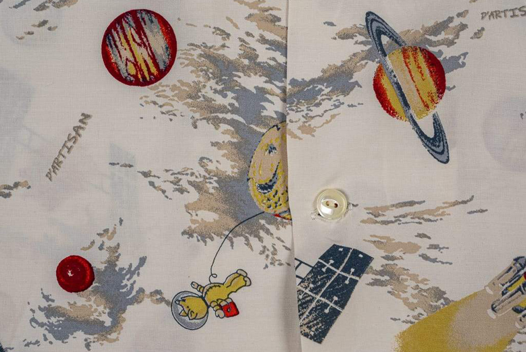Studio-D'Artisan-Enters-The-Final-Frontier-With-Its-Space-Aloha-Shirt-detailed-with-button