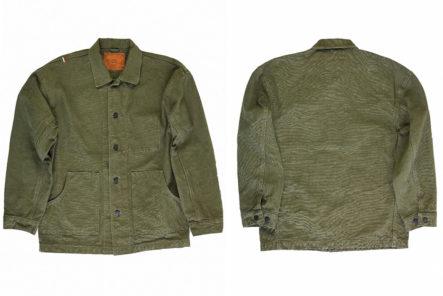 Tanuki-Serves-Up-25-oz.-Canvas-Armour-With-Its-Yoroi-Utility-Jacket-front-back