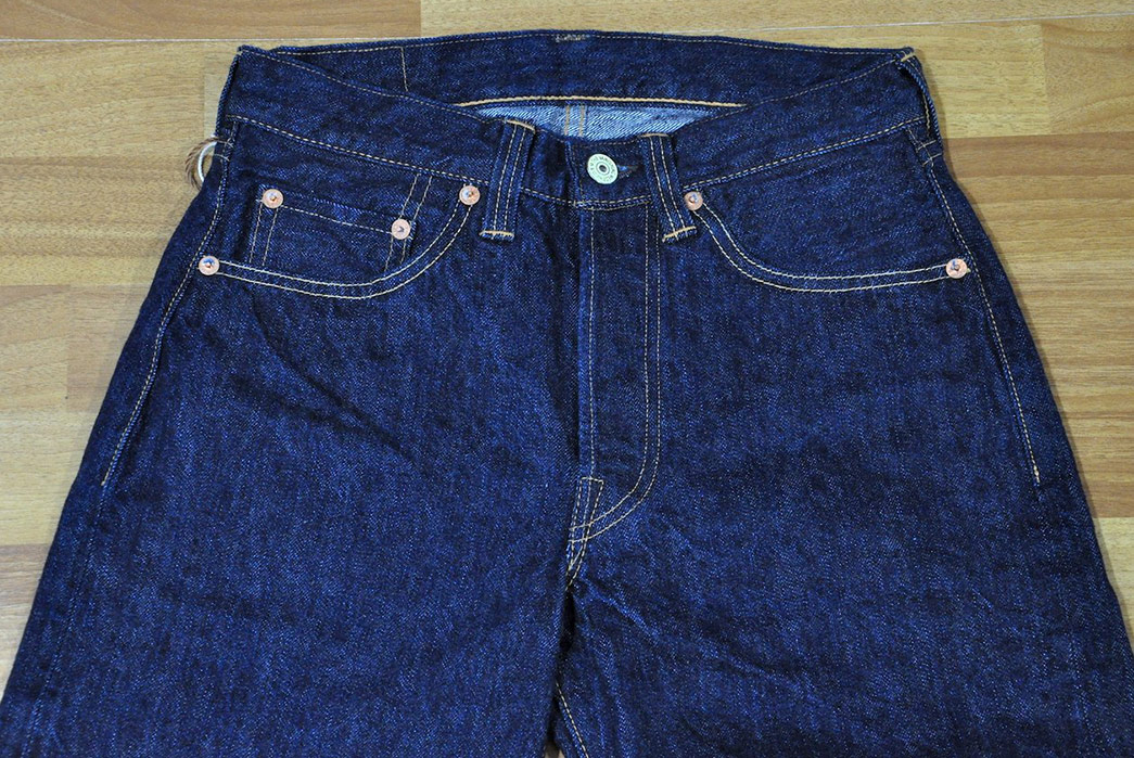 Vanish-Into-Blue-With-Freewheelers-601XX-1951-Jeans-front-top